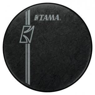 """BK22BMFH - peau de résonnance noire 22"""" laminée Fibre logo Tama Superstar Hyper-Drive"""