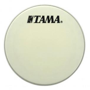 """CT22BMSV - peau de résonnance blanche 22"""" logo Tama"""