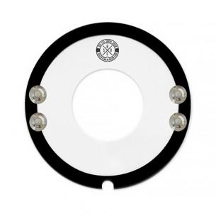 "Muffle 14"" évidé avec cymbalettes - Snare-Bourine-Donut"