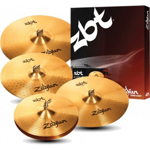 "Set cymbales ZBT Pro HH14"" + C16"" + R20"" + Crash 18"" OFFERTE"