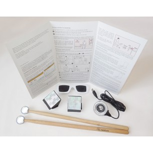 AERODRUMS - Ensemble de Air Drumming - Eye Camera PS3 incluse