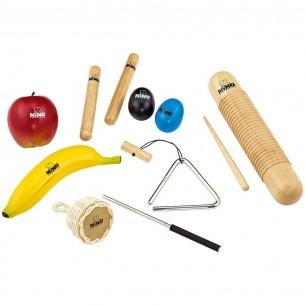 SET4 - Lot 8 percussions + Housse