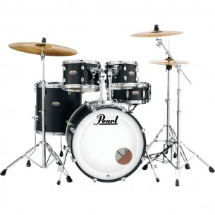 "DECADE MAPLE - 5-fûts Fusion 22"" SATIN SLATE BLACK - Pack D'accessoires inclus"