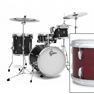 GB-J483-CRO BROOKLYN 2016 3 fûts 18'' 12'' 14'' Satin Cherry Red