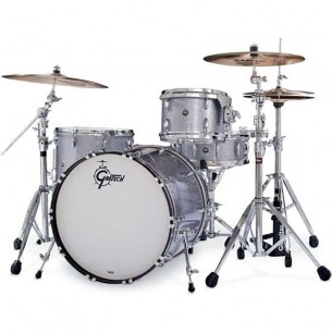 "GB-E403-SSP BROOKLYN 2016 3 fûts 20"" 12"" 14"", Silver Sparkle"