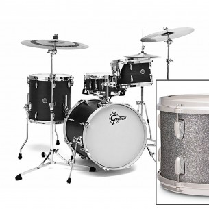 GB-J483-SSP BROOKLYN 2016 3 fûts 18'' 12'' 14'' Silver Sparkle