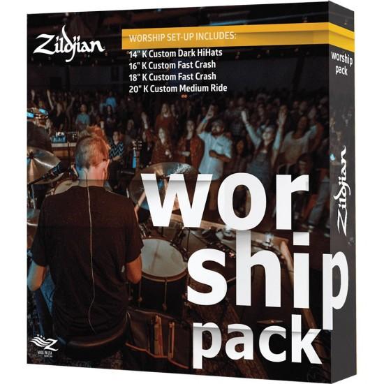 KC0801W - Set cymbales K' CUSTOM - Pack Worship
