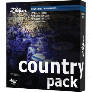K0801C - Set cymbales K' - Pack Country
