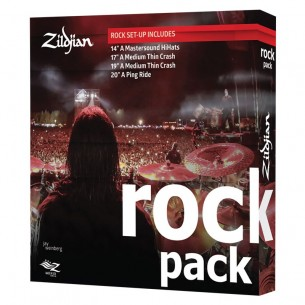A0801R - Set cymbales A' - Pack Rock