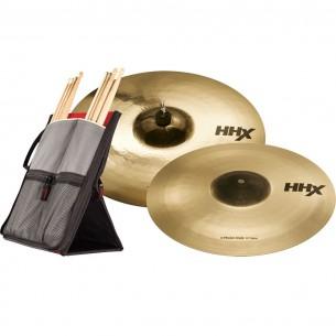 """Pack HHX Xplosion - Crash 16"""" / Crash 18"""" + Housse à baguettes offerte"""