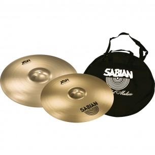 "Pack XSR Fast Crash 16"" / Crash 18"" + Housse à cymbales offerte"