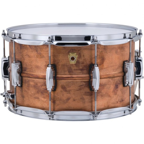 "Caisse Claire Raw Copper Phonic 14"" x 8 coquilles impériales, accastillage chrome"