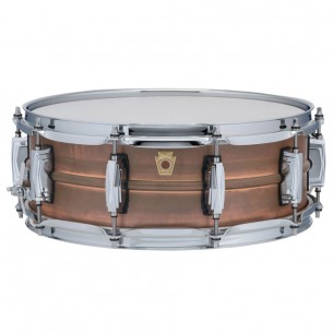 "Caisse Claire Raw Copper Phonic 14"" x 5 coquilles impériales, accastillage chrome"