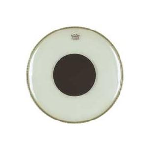 "CONTROLLED SOUND Transparente 24"" Grosse-caisse + renfort noir"