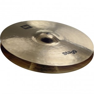 "HM15B - Hi-Hat Medium DH Brillant 15"" à double martellage - Paire"