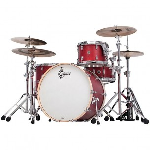 "GB-RC423-CRO BROOKLYN 2016 - 3 fûts 22"" 13"" 16"" Satin Cherry Red"