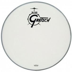 AMBASSADOR White Coated 26'' - Logo Gretsch Noir