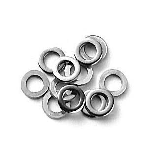Lot de 12 rondelles acier inox