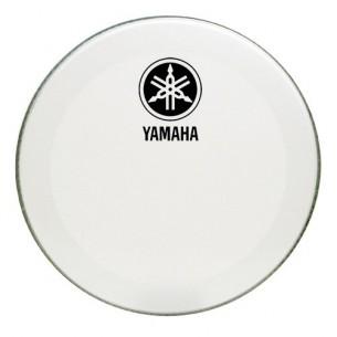 """Peau de résonance grosse-caisse 22"""" - Powerstroke 3 White - New logo"""