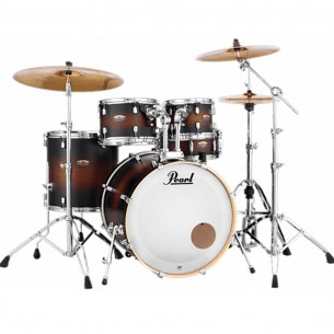 "DECADE MAPLE - 5-fûts Fusion 22"" SATIN BROWN BURST - Pack D'accessoires inclus"