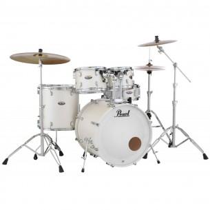 """DECADE MAPLE - 5-fûts Rock 22"""" WHITE SATIN PEARL - Pack D'accessoires inclus"""