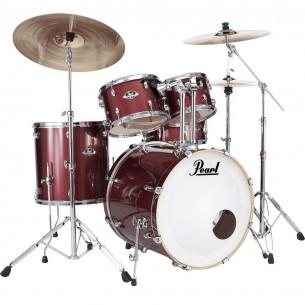 """EXPORT 5-fûts Rock 22"""" Black Cherry Glitter - avec pack accessoires et cymbales Sabian"""