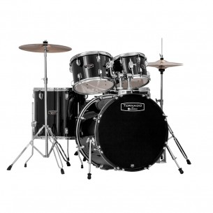TORNADO Jazz/Junior 18''-  5 fûts -  NOIR - kit complet
