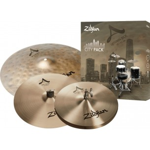 "A SERIES City Pack - Set de cymbales 18"" 14"" 12"""