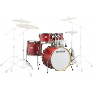 "Tour Custom TMP2F4 CAS - 4 fûts Fusion 22"" Candy Apple Satin"