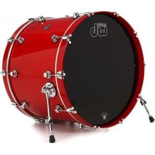 Grosse caisse Performance Lacquer Candy Apple Red 24x18""