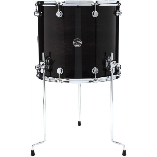 Floor-tom Performance Lacquer Ebony Stain 18x16""