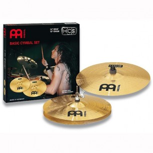 "HCS Set 2 cymbales (hi-hat 14"", crash 16"")"