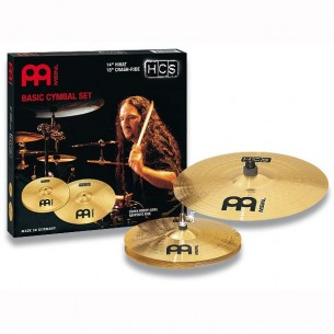 "HCS Set 2 cymbales (hi-hat 14"", crash/ride 18"")"