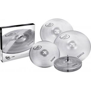 """QTPC504 - Pack de Cymbales Quiet Tone 14""""-16""""-18""""-20"""""""