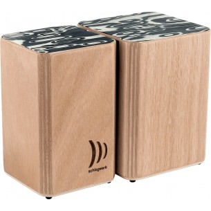 WBS200 - WBS200 Wooden Bongos Velcro