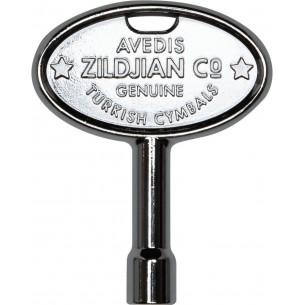 ZKEY - Clé d'accordage batterie chromé avec logo Zildjian