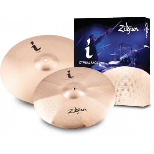 "ILHEXP1 - I Expression Cymbal Pack 1 (14"" Trash Crash/17"" Crash )"