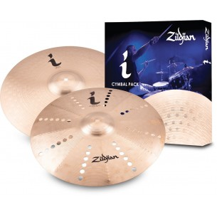 "ILHEXP2 - I Expression Cymbal Pack 2 (17"" Trash Crash/18"" Crash)"
