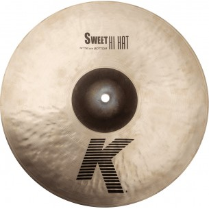 "K0722 - K 14"" sweet hi-hat - bottom"
