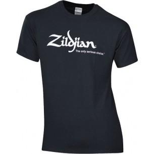 TSHIRT-BK-L - T-shirt logo Zildjian noir (L)