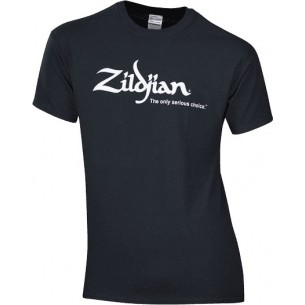 TSHIRT-BK-M - T-shirt logo Zildjian noir (M)
