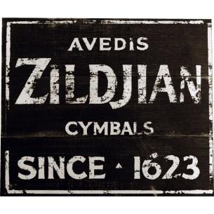 ZSIGN1 - Panneau vintage 36 x 32 cm