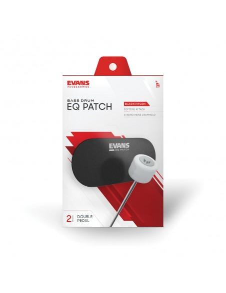 EQPB2 Patch double-pédale EQ nylon noir