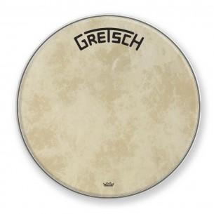 "GRDHFS26B Peau de grosse caisse Fiberskyn 26"" logo Gretsch centré"