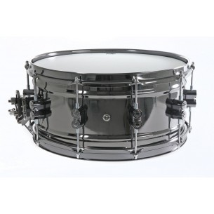 PDSN6514SSBNB Caisse claire Black Nickel Over Brass 14x6,5""