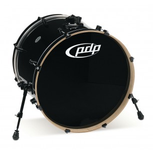 Grosse caisse Concept Maple PEARLESCENT BLACK 22 x 18""