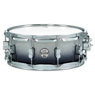 Caisse claire Concept Maple SILVER TO BLACK SPARKLE FADE 14 x 5,5""
