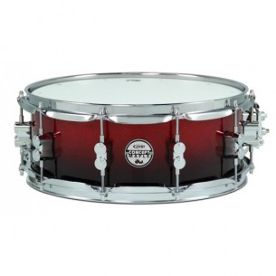Caisse claire Concept Maple RED TO BLACK SPARKLE FADE 14 x 5,5""