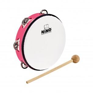 """NINO51SP - Tambourin Abs 10"""" +Cymb, Rose"""