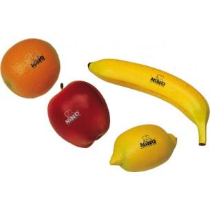 NINOSET100 - Assortiment 4 Shakers Fruits